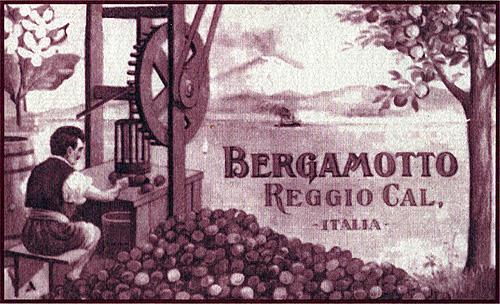 Etichetta del 188 del Bergamotto di Reggio Calabria